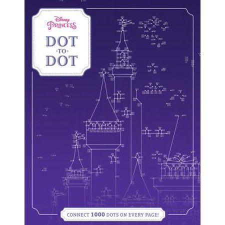 Disney Princess Dot-to-Dot : CONNECT 1000 DOTS ON EVERY PAGE!](Halloween Connect The Dots 1-10)
