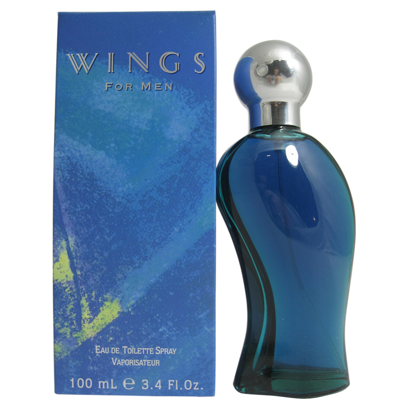 Wings Eau De Toilette Spray 3.4 Oz / 100 Ml
