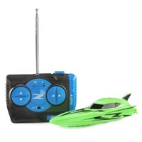 Adventure Force Radio-Controlled Mini Boat, Green