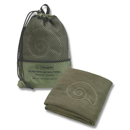 Snugpak Travel Towel - Head to Toe Olive 47