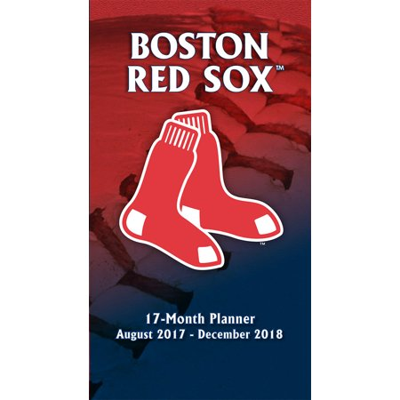 Turner Sports Boston Red Sox 2017 18 17 Month Planner