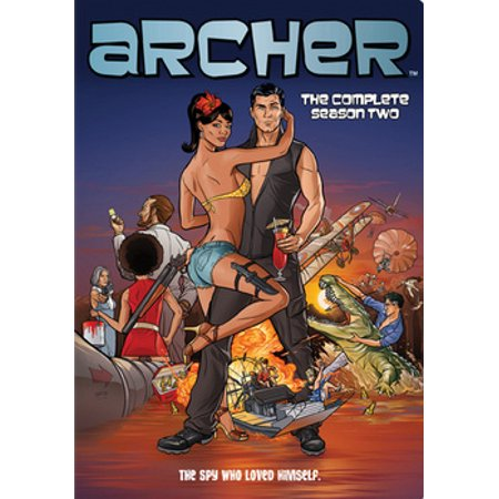 Archer: The Complete Season Two (DVD) (Archer Tv Series Dvd)
