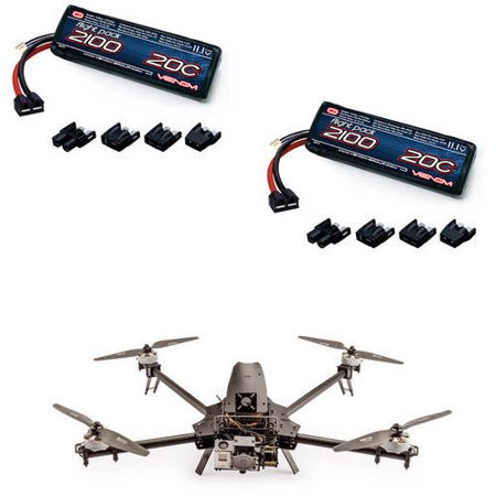 Take Offer Action Drone ADM Mini Replacement RC Quad Drone LiPo Battery by Venom – 2Pack Before Special Offer Ends