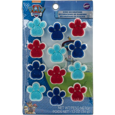 (2 pack) Paw Patrol Icing Decorations, 12 ct. - Paw Patrol Decorations