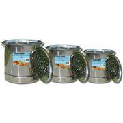 King Kooker #KKSS32-52 - 3-Pot Set, Stainless Steel - 32Qt, 44Qt & 52Qt