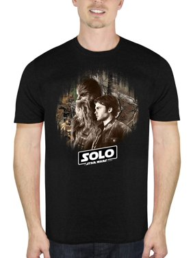daf2395d7 Product Image Solo: A Star Wars Story Han and Chewie Men's Short Sleeve  Graphic T-shirt