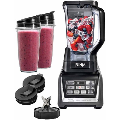 Ninja Duo Auto IQ Blender with NutriNinja Single Serve Cups (BL640)