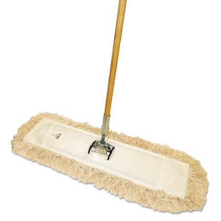 Dust Mop Treatment (Boardwalk Cut-End Dust Mop Kit, 36 x 5, 60