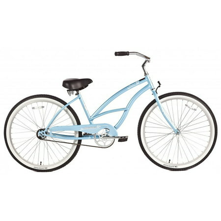 "Micargi Pantera, Baby Blue - Women's 26"" Beach Cruiser Bicycle"