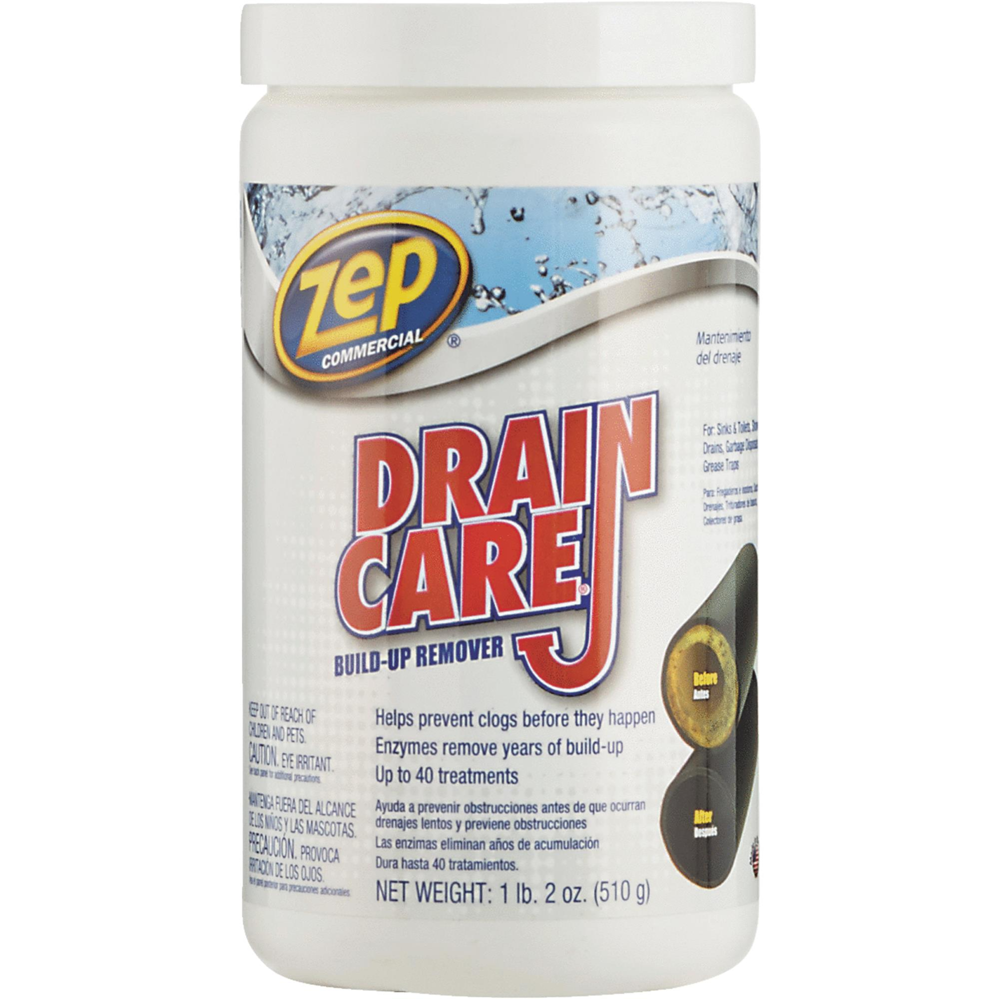 Zep Commercial Drain Care Crystal Drain Cleaner Walmart