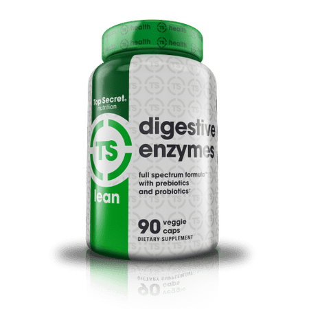 Top Secret Nutrition Digestive Enzymes Capsules, 90 Ct