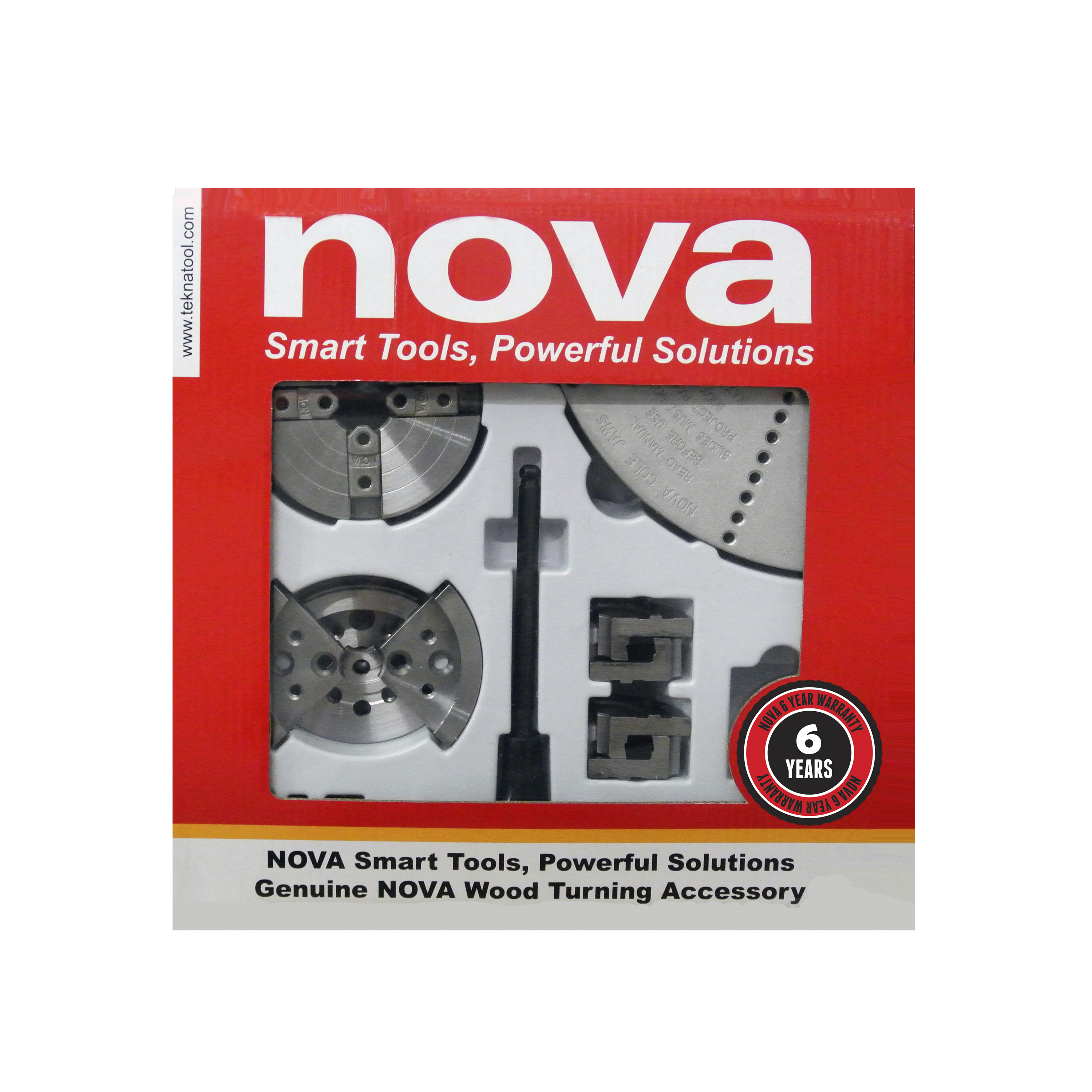Nova 23245 SN2 Chuck w/Popular Jaw Assortment