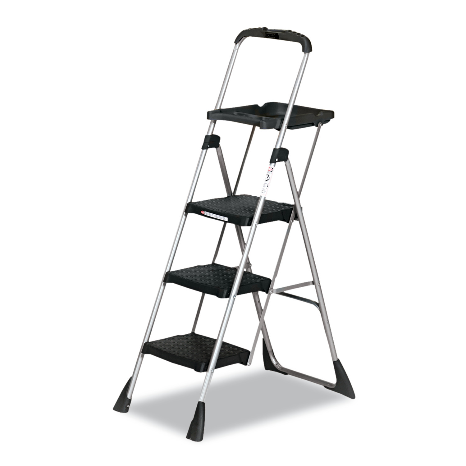 Cosco Max Work Steel Platform Ladder 22w x 31d x 55h 3-Step  sc 1 st  Walmart & Cosco Max Work Steel Platform Ladder 22w x 31d x 55h 3-Step ... islam-shia.org