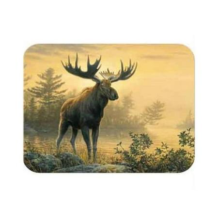 Mcgowan Tt92351 Tuftop Northwoods Moose Cutting Board  Small