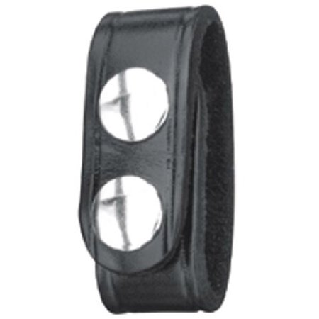 "Gould and Goodrich H76-4CLBS 4-Pack Belt Keepers, Double Snap, Fits Belts up to 2-1/4"", Hi-Gloss"