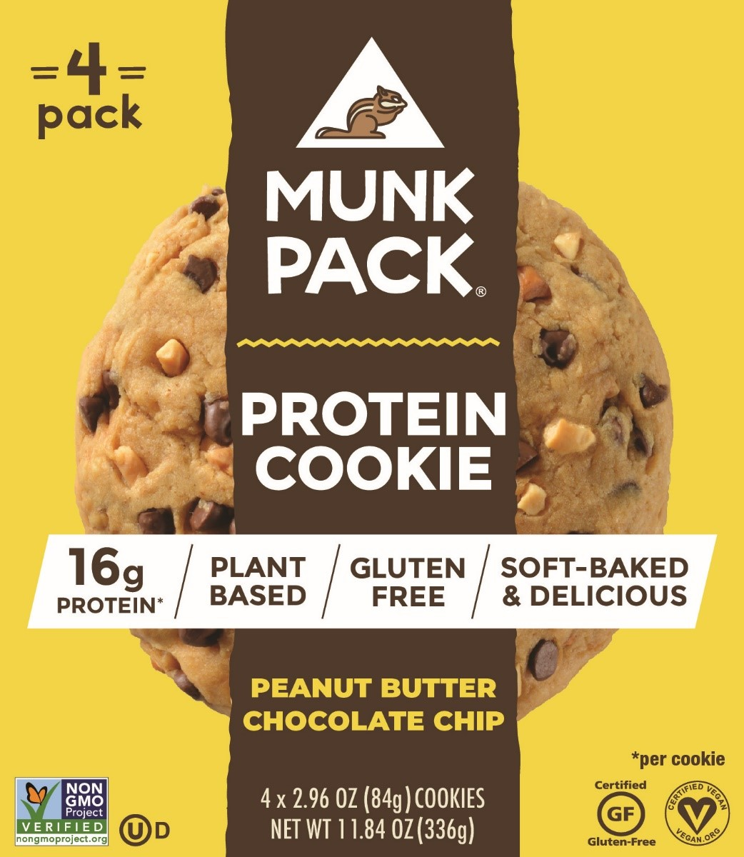 Munk Pack Protein Cookie Peanut Butter Chocolate Chip 4 Ct Walmart Inventory Checker Brickseek