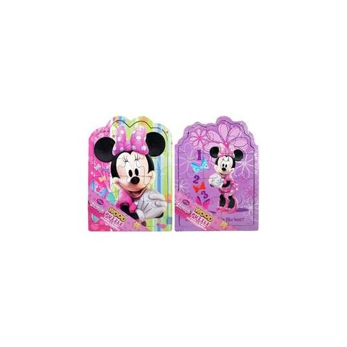 Minnie Mouse 36768 Wood Puzzle Pack, Two Puzzles 12 Pieces by