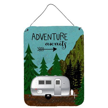 Airstream Camper Adventure Awaits Wall or Door Hanging Prints (Adventure Hanging)