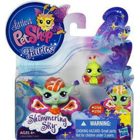 Littlest Pet Shop Shimmering Sky Sunscape Fairy & Ladybug Figure