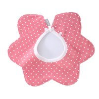 Cute Baby Soft Cotton Bibs Princess Apron Infant Feeding Smock Bib Burp Cloths Boy Girls For 0-3M