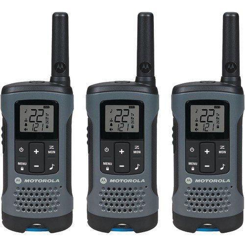 Motorola T200TP Talkabout Radio, 3-Pack