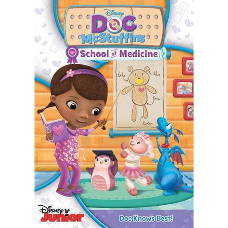 Doc McStuffins Disney Junior: Doc McStuffins: School of Medicine (Other) - Doc Back To The Future