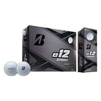 Bridgestone e12 Speed Golf Balls, 12 Pack