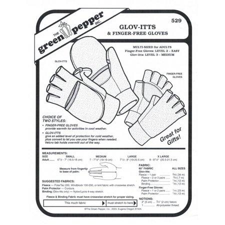 Finger Free Gloves Sewing (Free Box Patterns)