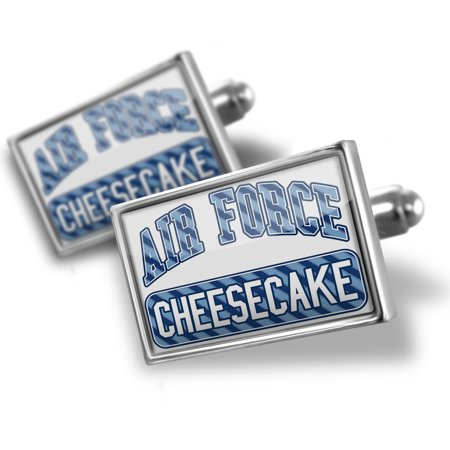 Cufflinks Air Force Cheesecake  Blue Stripes   Neonblond