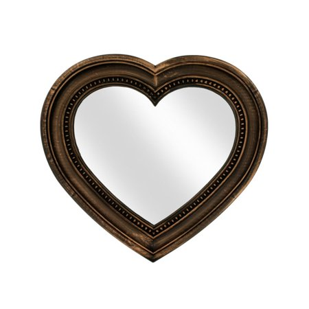 Antique Bronze Heart Shaped - Shaped Mirrors