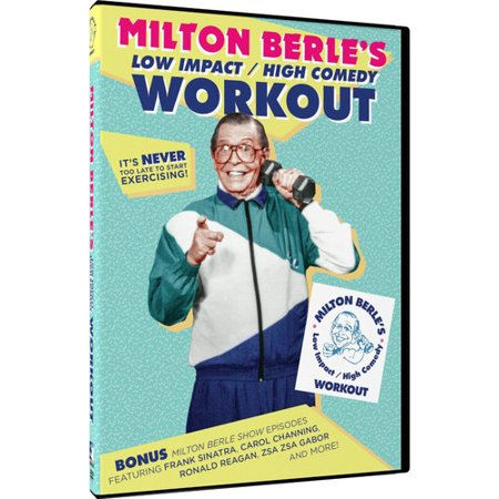 Milton Berle's Low Impact/High Comedy Workout + Show Episodes
