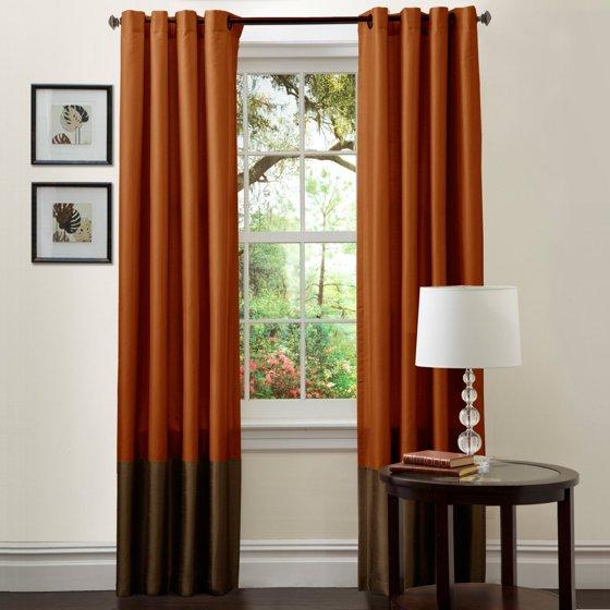 Rust Orange Colored Curtains Soozone