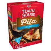 Town House Pita Crackers, Sea Salt, 9.5 Oz