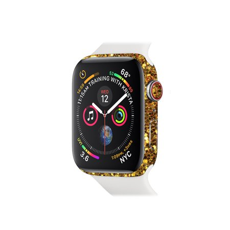 Skin for Apple Watch Series 4 44mm - Gold Dazzle   Protective, Durable, and Unique Vinyl Decal wrap cover   Easy To Apply, Remove, and Change Styles