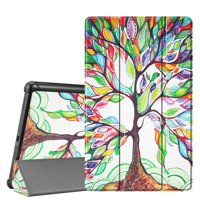 Fintie Case for Samsung Galaxy Tab A 10.1 SM-T510 2019 Tablet - Slim Lightweight Shell Stand Cover, Love Tree