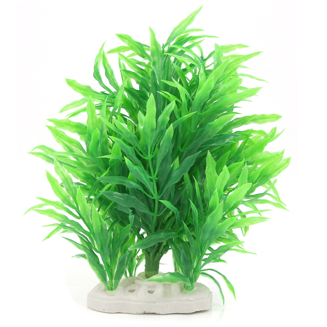 Decorative Emulational Grass Plant Green for Fish Tank