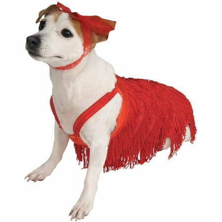 Flapper Halloween Pet Costume (Multiple Sizes Available) for $<!---->