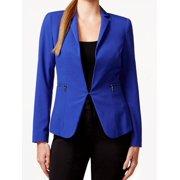 Laundry by Shelli Segal NEW Blue Zip-Pocket Women's Size 14 Blazer Jacket $139