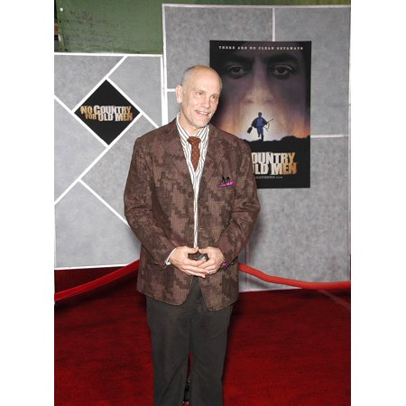 John Malkovich At Arrivals For No Country For Old Men Premiere El Capitan Theater Los Angeles Ca November 04 2007 Photo By Michael GermanaEverett Collection
