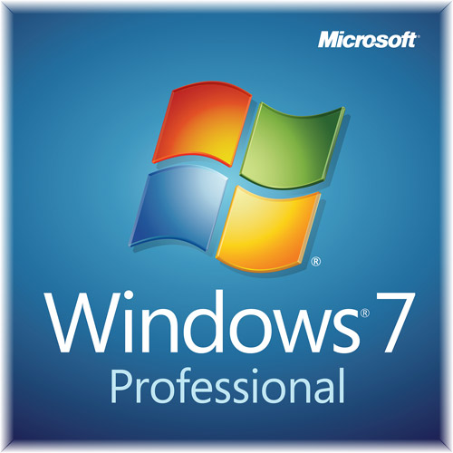 Microsoft Windows 7 Professional with SP1 64-bit Operating System (PC)