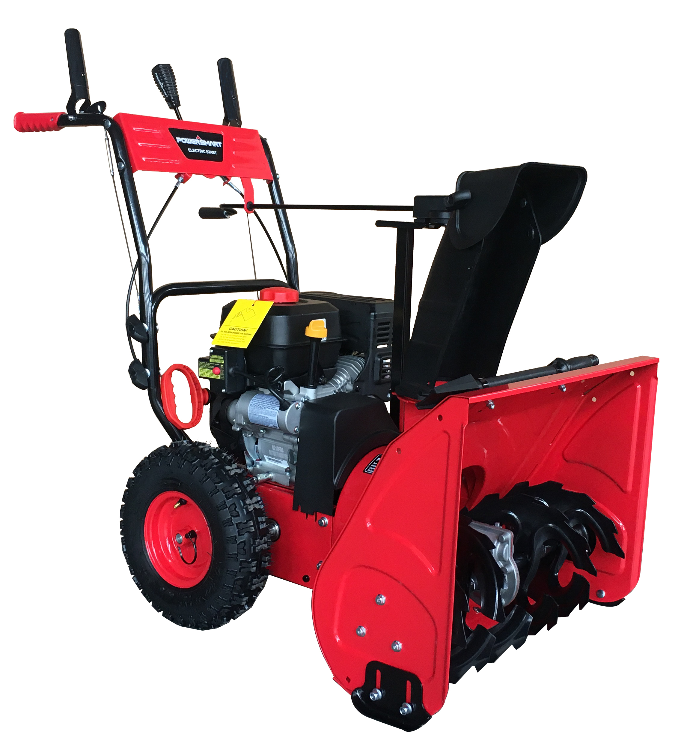 PowerSmart DB7279 24inch Two Stage Gas Snow Blower with Electric Start -  Walmart.com - Walmart.com