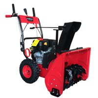 Deals on PowerSmart DB7279 24inch Two Stage Gas Snow Blower