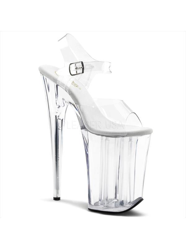 """Clr/Clr Pleaser Platforms (Exotic Dancing) 9"""" Heel Size: 5"""