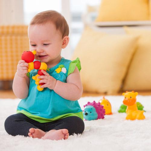 Juguete Para Bebe Infantino Sensory Pals + juguetes para bebes en VeoyCompro.net