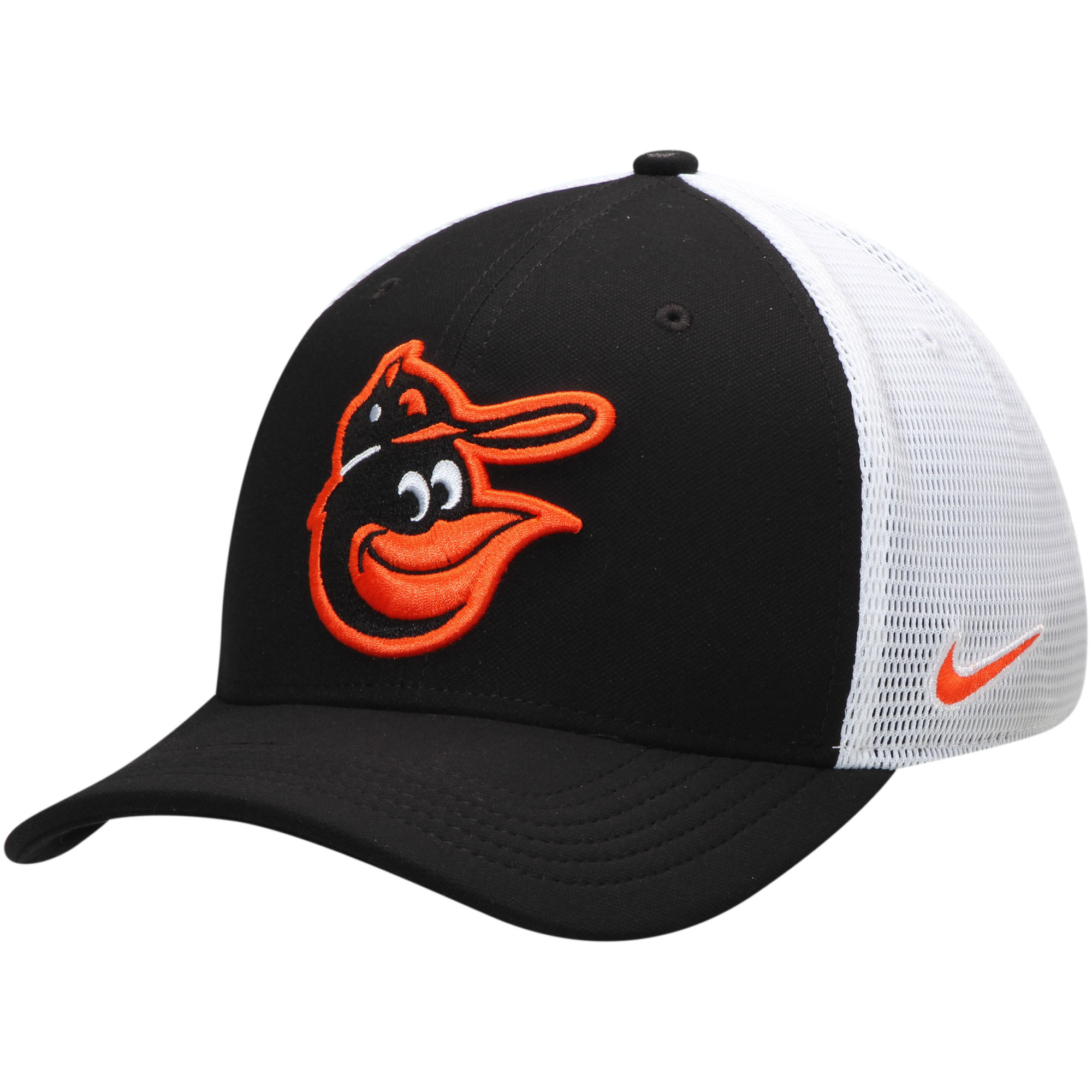 8a99cabf30721 Baltimore Orioles Nike Aerobill Classic 99 Meshback Flex Fit Hat ...