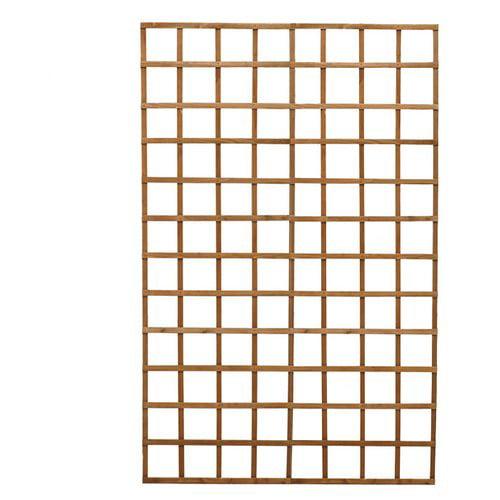 Diamond Teak Wood Lattice Panel Trellis by Diamond Teak