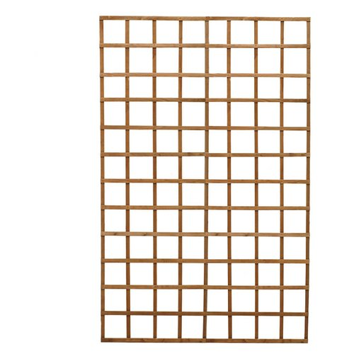 Diamond Teak Wood Lattice Panel Trellis Walmart