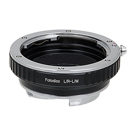 Adapter Lens Adapters - Fotodiox Lens Mount Adapter, Leica R Lens to Leica M Adapter, fits Leica M-Monochrome, M8.2, M9, M9-P, M10 and Ricoh GXR mount A12