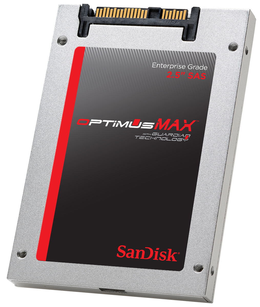 "SanDisk SDLLOCDR-038T-5CA1 SanDisk Optimus MAX 4 TB 2.5"" Internal Solid State Drive SAS 400 MB s Maximum... by SanDisk"