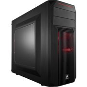 """Corsair Carbide SPEC-2 Computer Case - Mid-tower - Black - Steel - 7 x Bay - 2 x 4.72"""" x Fan(s) Installed - Mini ITX, ATX, Micro ATX Motherboard Supported - 11.02 lb - 6 x Fan(s) Supported - 2 x Exter"""